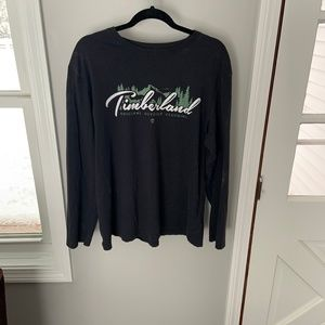 Timberland Long Sleeve Logo T-Shirt